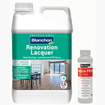 Pack Vernice bicomponente di ripristino all'acqua RENOVATION LACQUER + AQUAPRO
